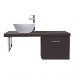 Bộ tủ chậu Cabinet INAX CB1206-5QF-B ( màu đậm)