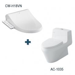 Bàn cầu AC-1035 + CW-H18VN