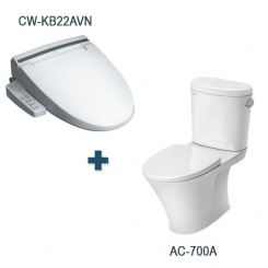 Bàn cầu AC-700A + CW-KB22AVN