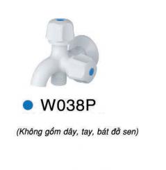 Vòi gắn tường lạnh Caesar W038P