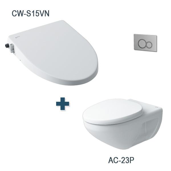 Bàn cầu AC-23P + CW-S15VN