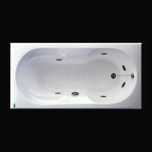 Bồn Tắm Massage Không Chân Yếm Caesar MT0370